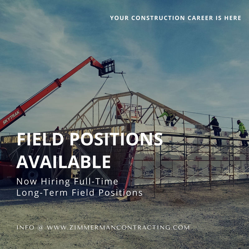 Field Positions Available